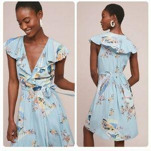 🌈🆕️ Anthropologie Rosalina Wrap Dress by Maeve
